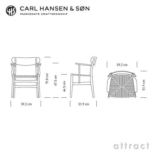 Carl Hansen & Son カールハンセン & サン CH26 アームチェア オーク ホワイトオイルフィニッシュ オークキャップ デザイン:ハンス・J・ウェグナー