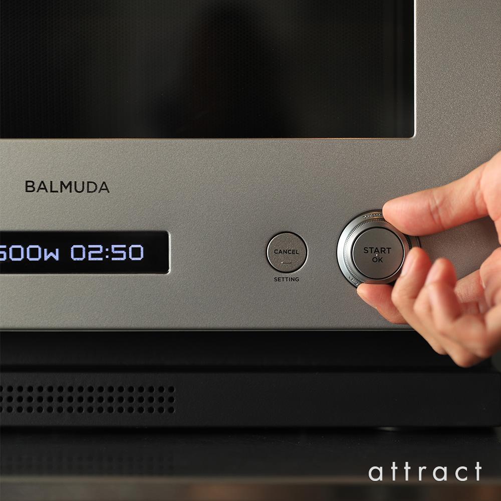 BALMUDA バルミューダ The Range ザ・レンジ オーブンレンジ K04A カラー:3色 デザイン:寺尾 玄